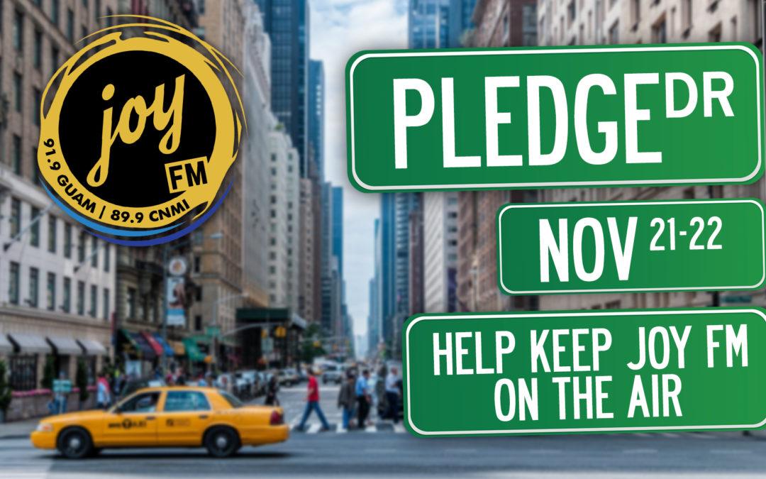 Pledge Drive (Nov 21-22)